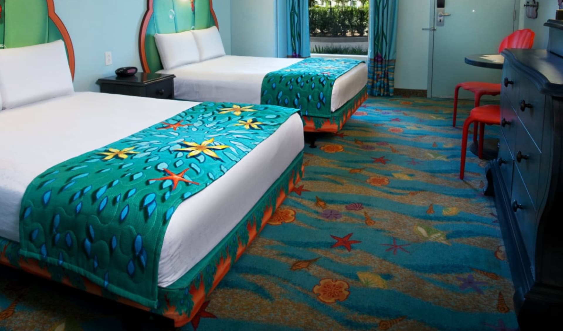 Disney's Art of Animation Resort in Lake Buena Vista: Zimmer_Disney's Art of Animation Resort_Little Mermaid Room_Bonotel