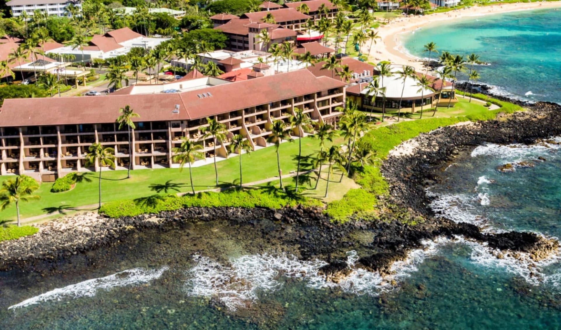 Sheraton Kauai Resort in Poipu - Kauai: Exterior_Sheraton Kauai Resort_Aussenansicht_Hotelchain