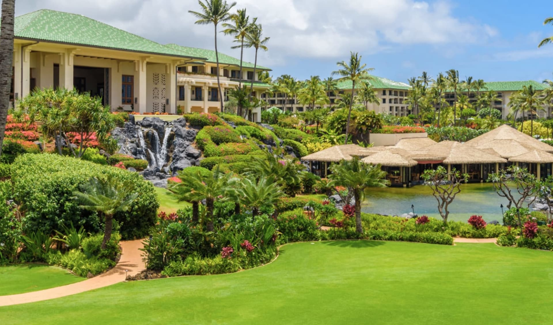 Grand Hyatt Kauai Resort & Spa in Poipu - Kauai: Exterior_Grand Hyatt Kauai Resort_Aussansicht_ATI