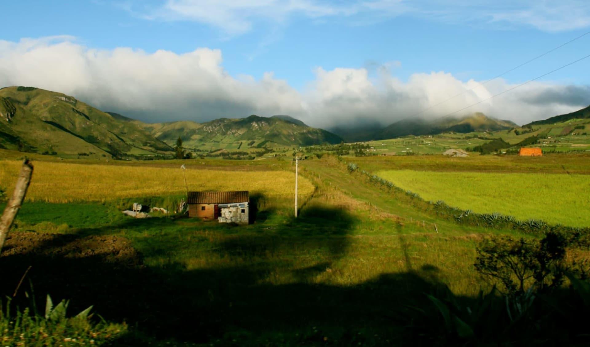 Haciendas del Ecuador ab Quito: Natur um die Hacienda Zuleta