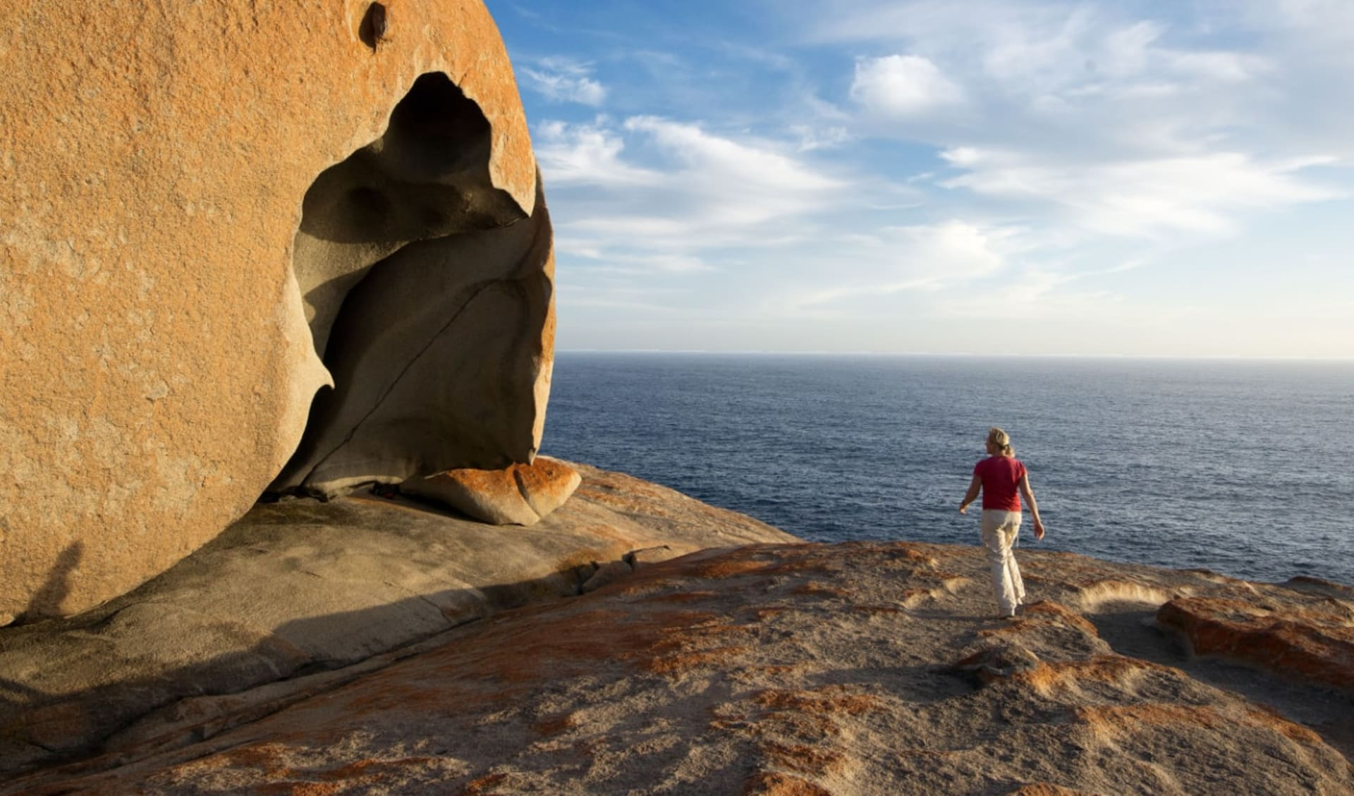 Kangaroo Island in Style ab Adelaide: Remarkable Rocks - Kangaroo Island
