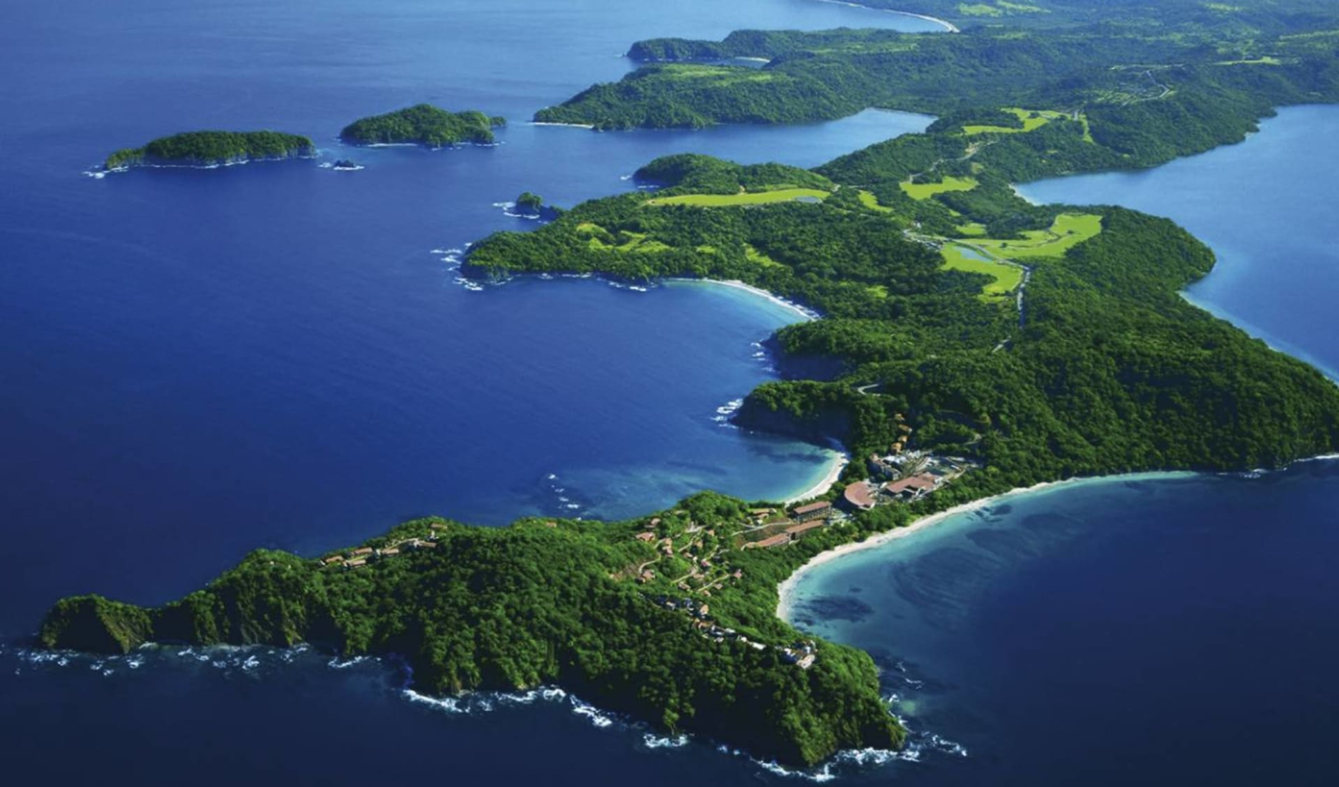 Mietwagenreise Zwischen zwei Ozeanen ab San José City: Costa Rica - Vogelperspektive
