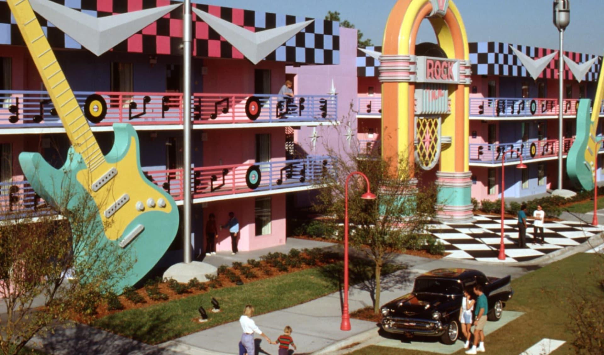 Disney's All Star Music Resort in Lake Buena Vista: All Star Music_Disney_Orlando - Exterior