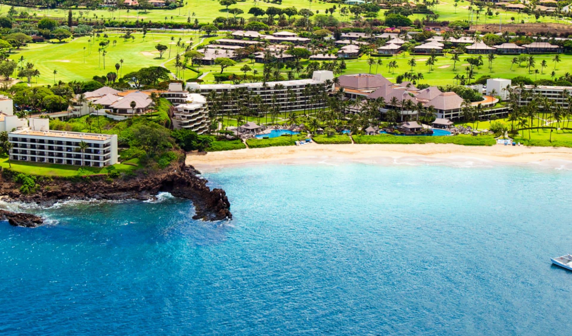 Sheraton Maui Resort in Lahaina - Maui: exterior sheraton maui hotelanlage meer strand
