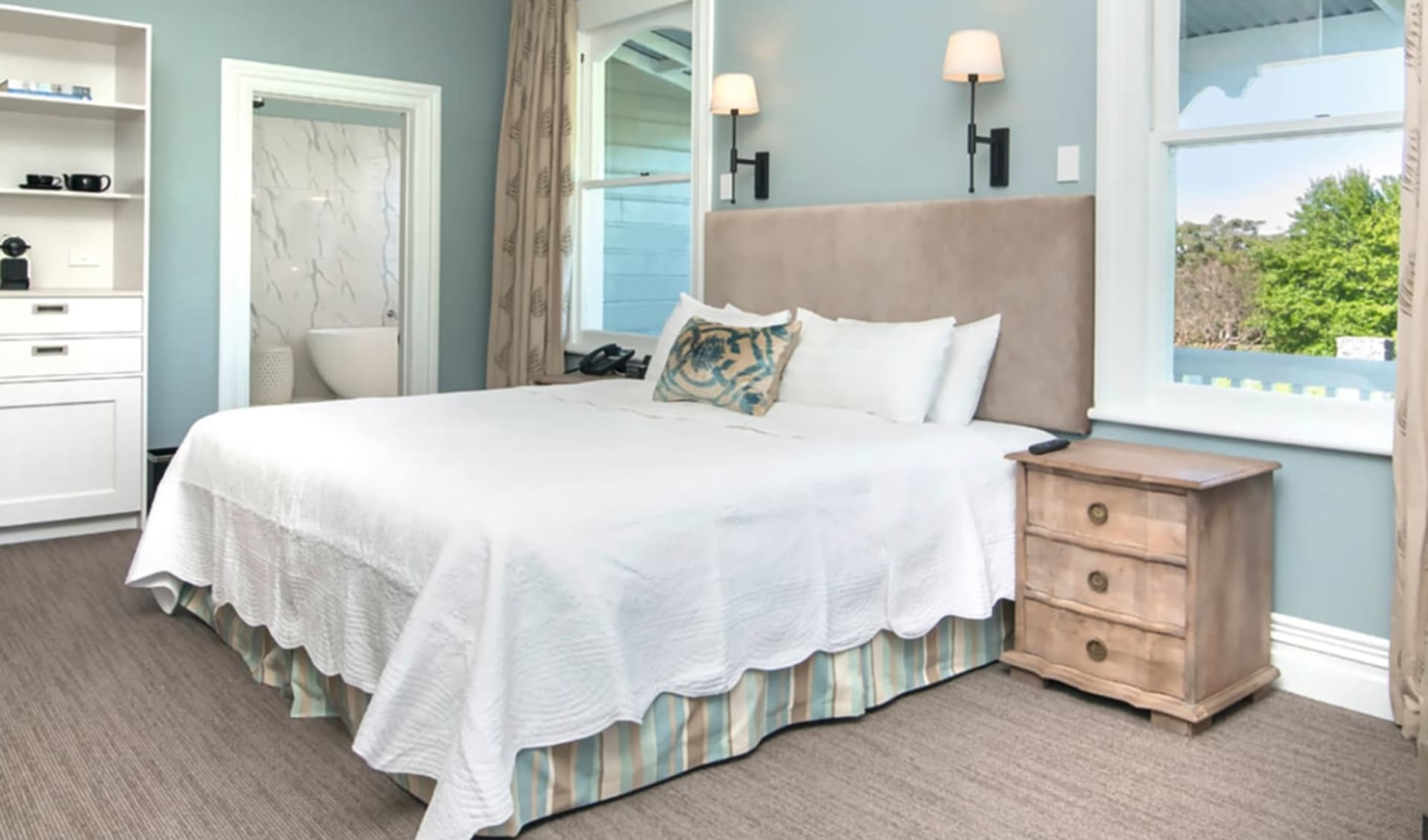 Marlborough Lodge in Blenheim: The Marlborough Lodge Blenheim Neuseeland  Premium Lodge Suite 2017