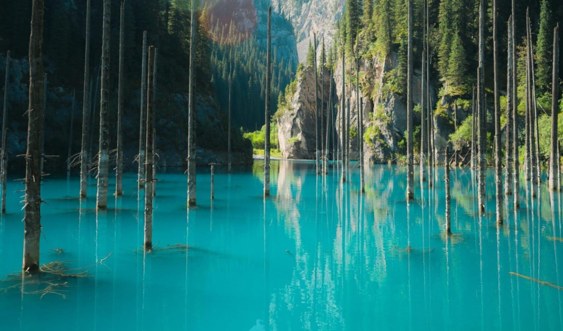 Privatreise Natur pur in Kasachstan und Kirgistan ab Almaty: Kasachstan_KaindySee_