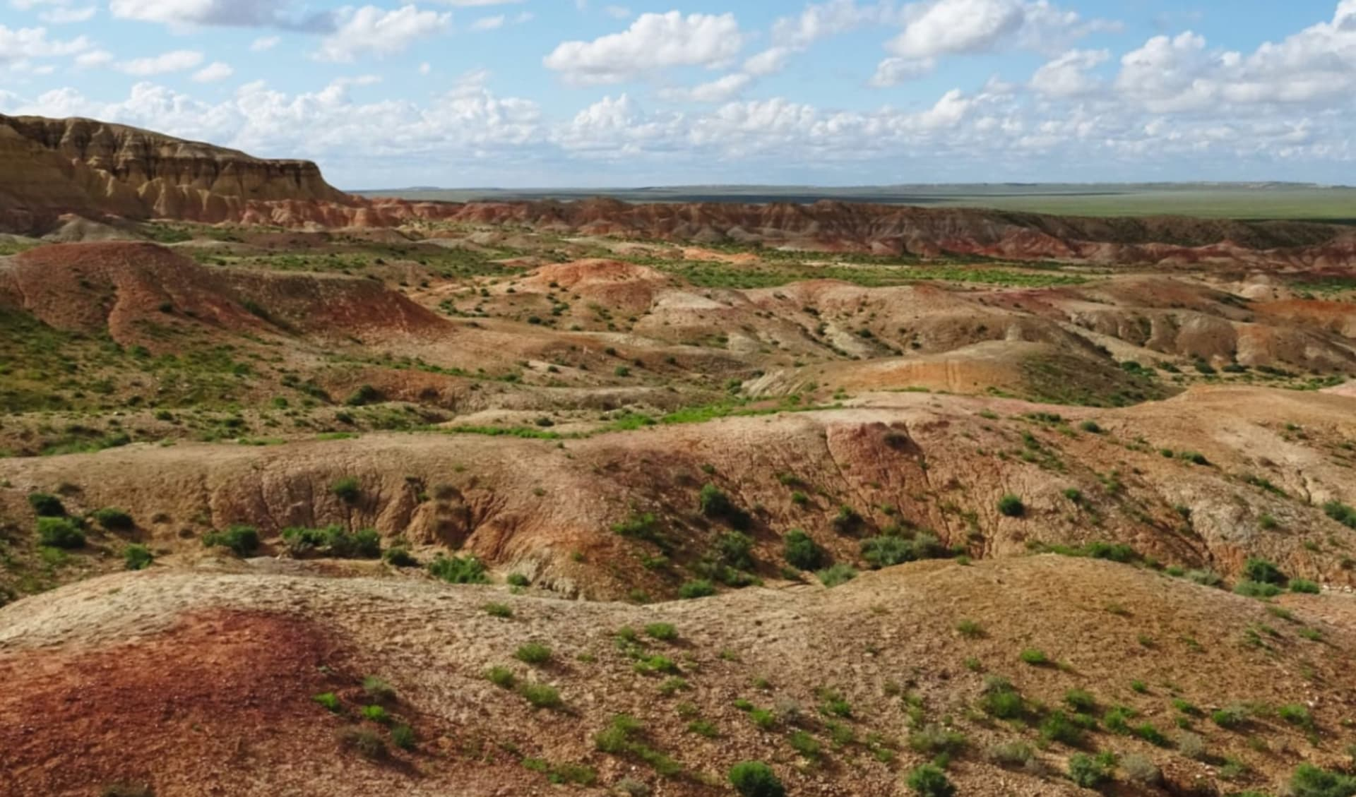 Die weite Wüste Gobi ab Ulaanbaatar: Mongolei_Tsagaan Suvarga_Sonja