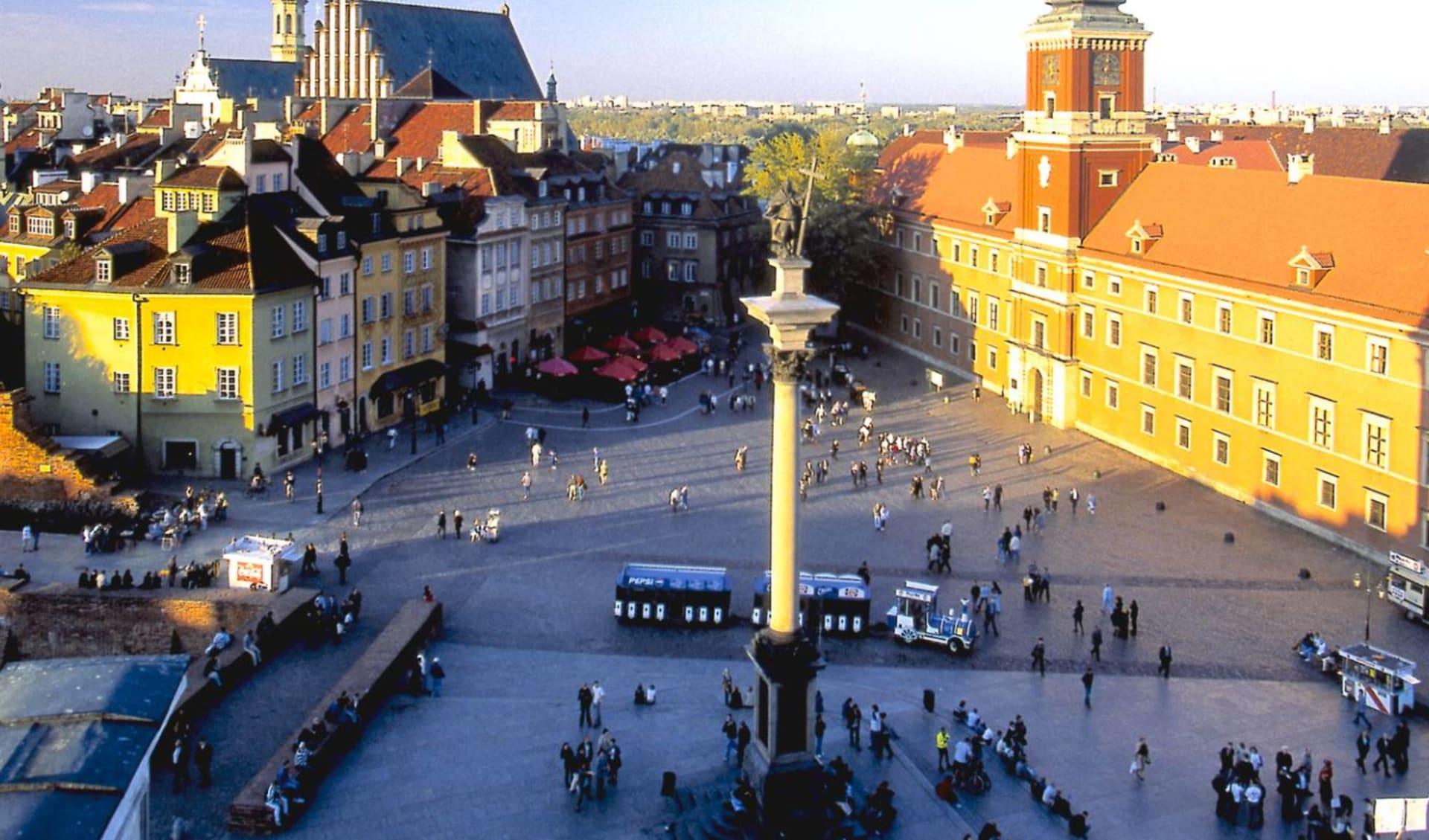 Facettenreiches Nordpolen ab Warschau: Polen - Warschau - Altstadt