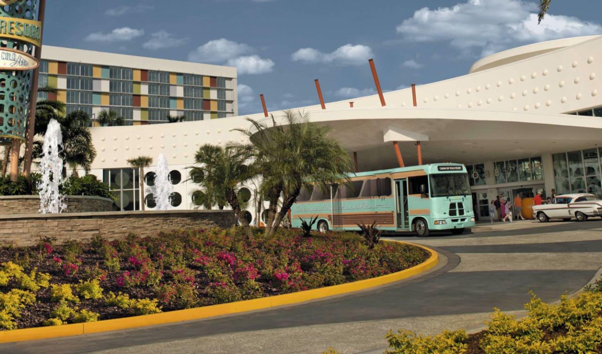 Universal's Cabana Bay Beach Resort in Orlando: Cabana Bay Beach Resort - Hotelansicht