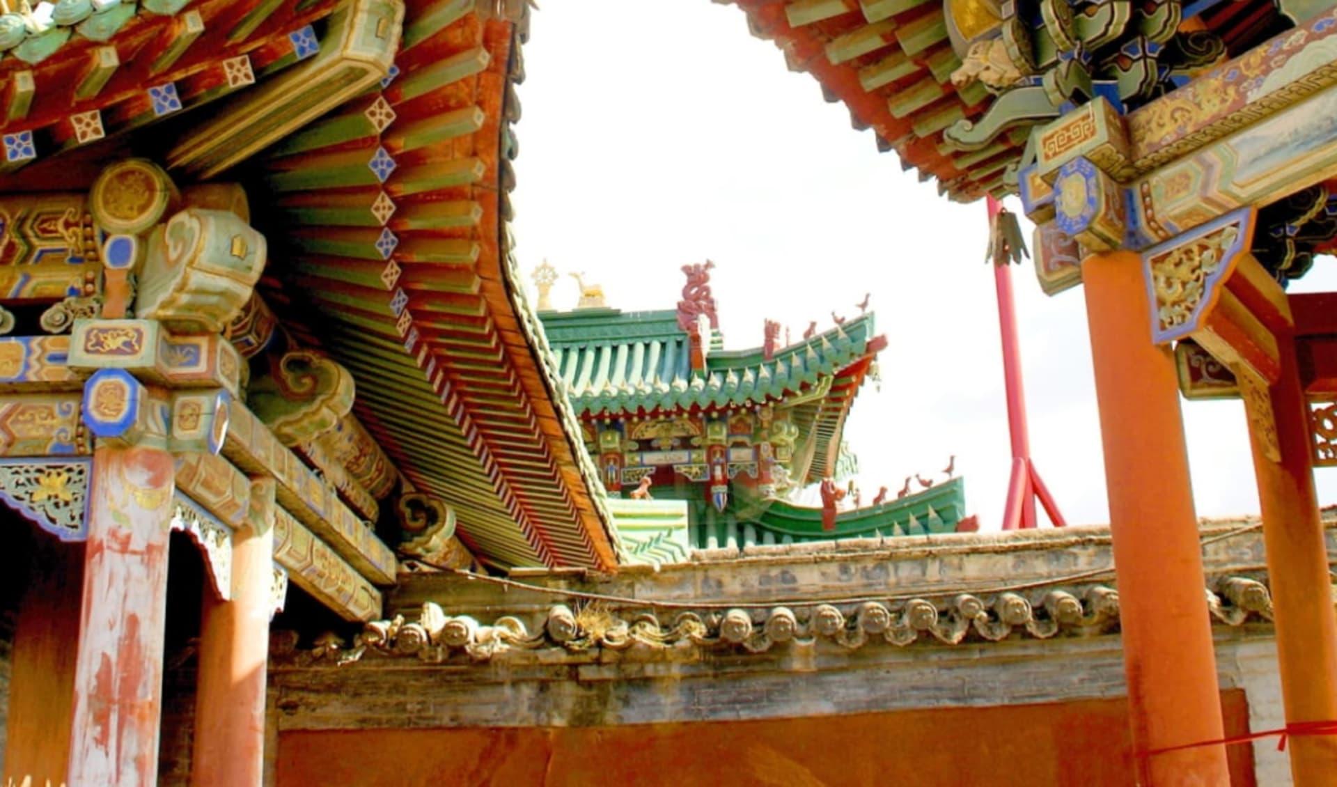 Hauptstadt des Dschingis Khan ab Ulaanbaatar: Mongolei_UlanBator_Winterpalast_
