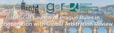 Official Launch of Prague Rules in cooperation with Global Arbitration Review