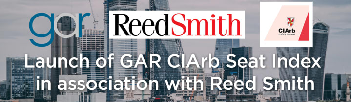 Launch of GAR - CIArb Seat Index
