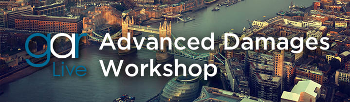 GAR Live Advanced Damages Workshop
