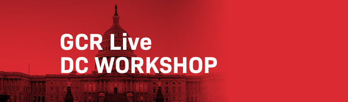 GCR Live 2nd Annual DC Workshop