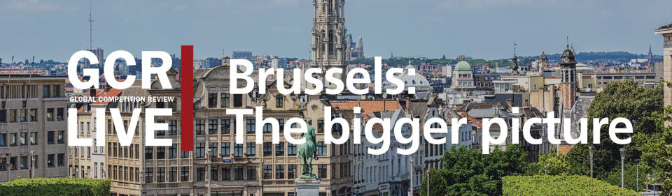 GCR Live 9th Annual Brussels Conference: The bigger picture