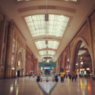 Huge station is huge
