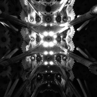 Gaudí knows how to impress with a ceiling