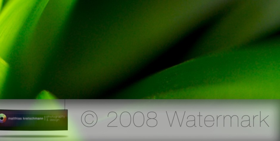 The Definite Guide To Watermarks In Apple Aperture