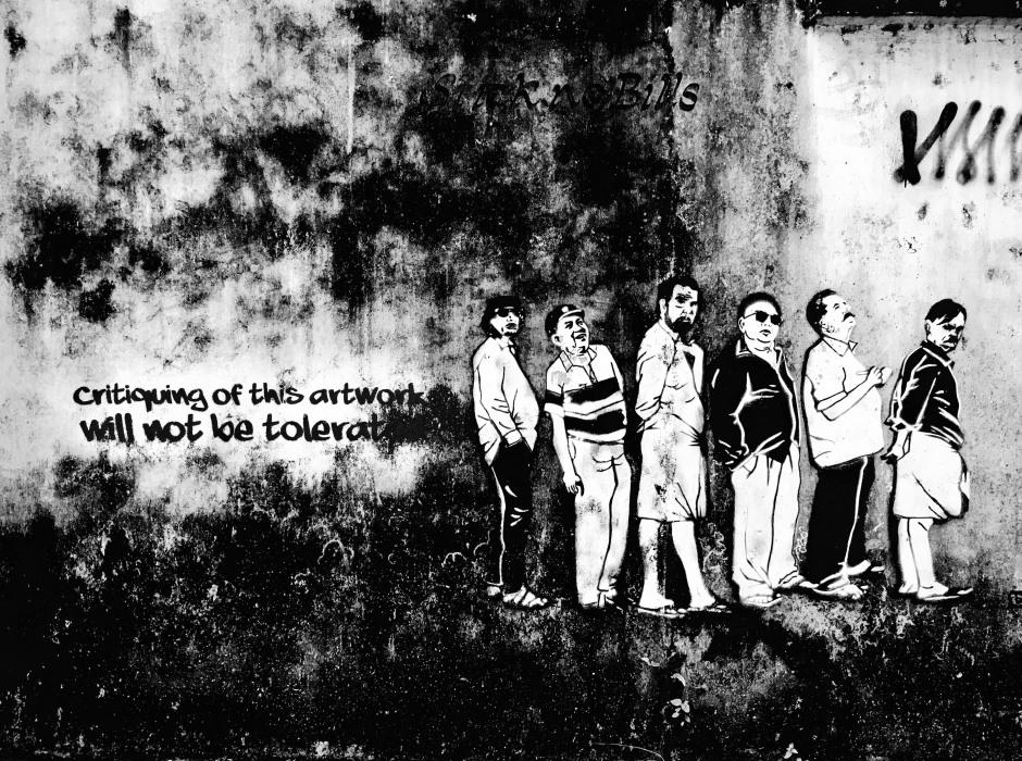 Kochi's street art game is strong