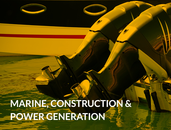 Marine, Construction & Power Generation