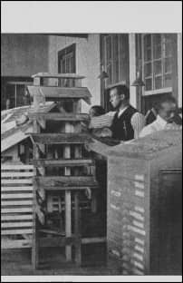 Typesetting—printing office