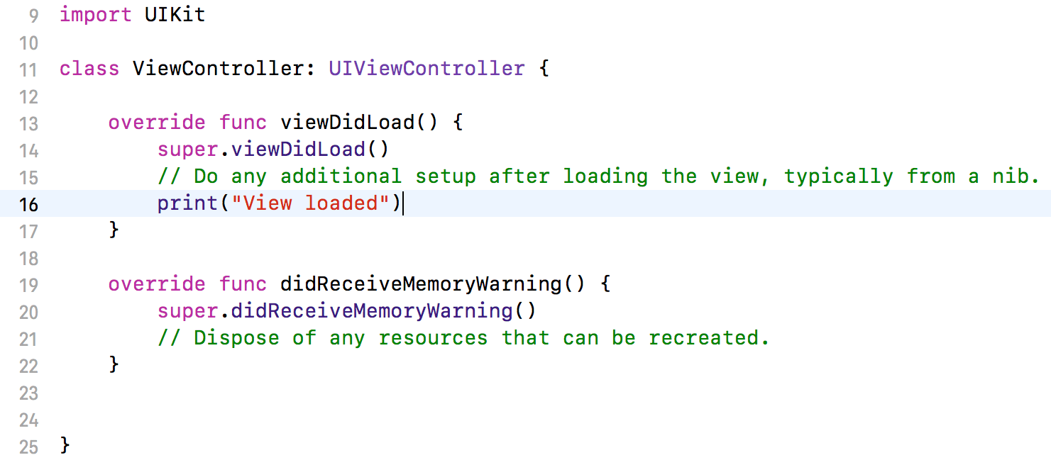 Code edited