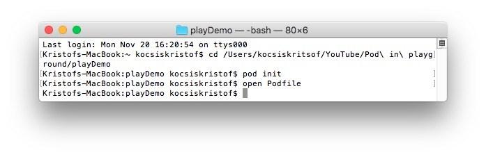 Terminal window screenshot