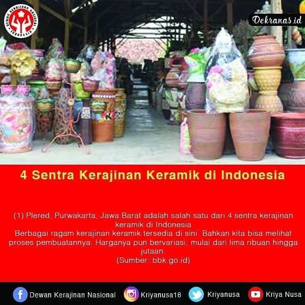 4 Sentra Kerajinan Keramik di Indonesia