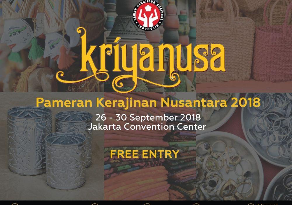 Segera Hadir Kriyanusa 2018