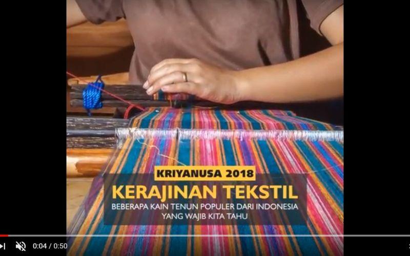 Beberapa Kain Tenun Populer dari Indonesia yang Wajib Kita Tahu