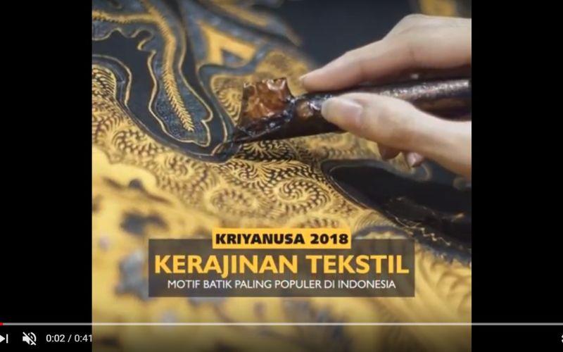 Motif Batik Paling Populer di Indonesia