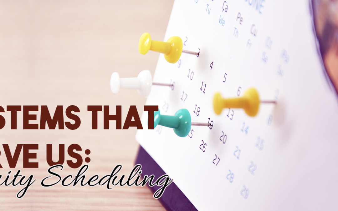 Systems that serve us: Acuity Scheduling