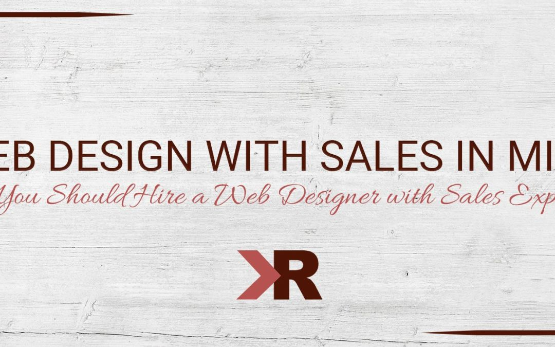 Web Design with Sales in Mind