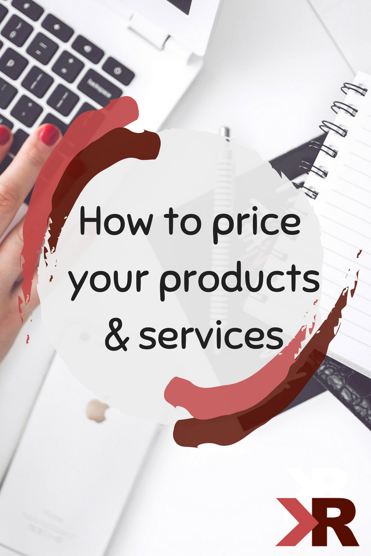 How to price products & services - KRose Marketing