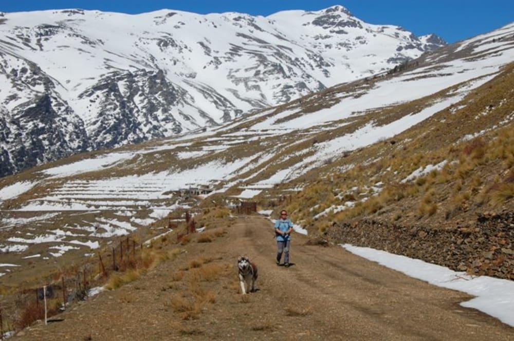 Cerro de Caballo behind me and Khumbu