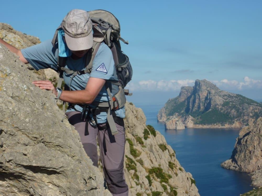 Me on the Cavell Bernat Ridge
