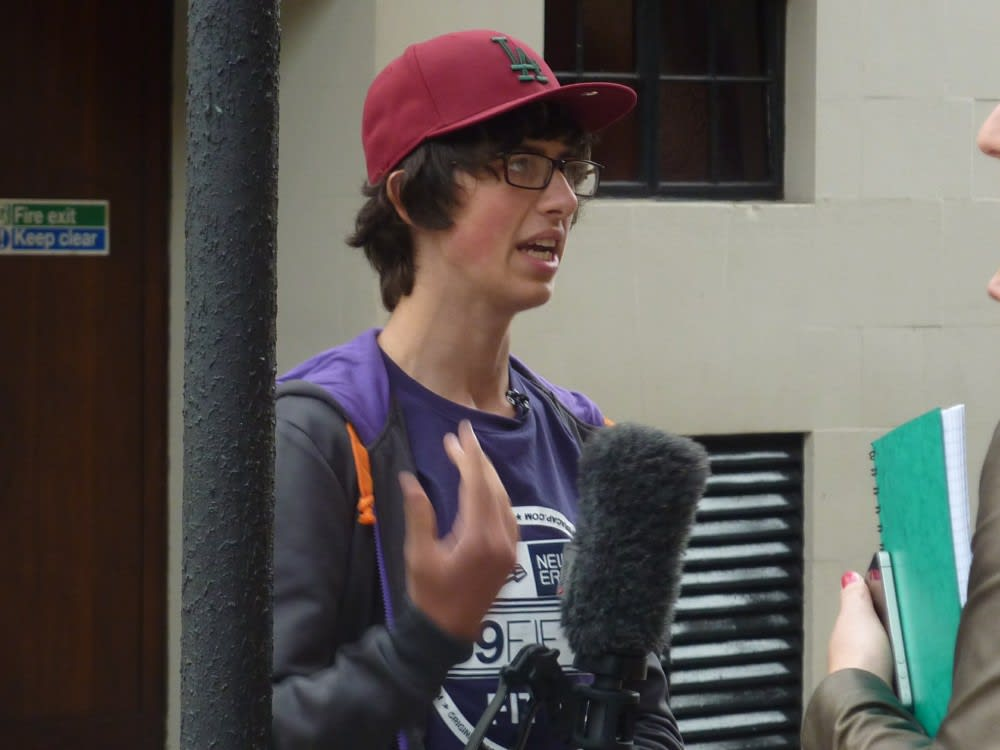 Sam Pepper from Big Brother 11