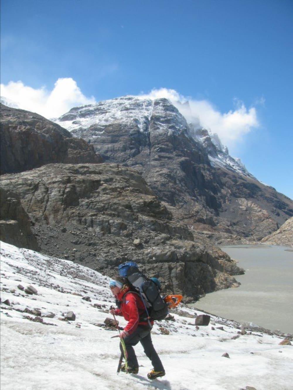 Me on the Marconi Glacier
