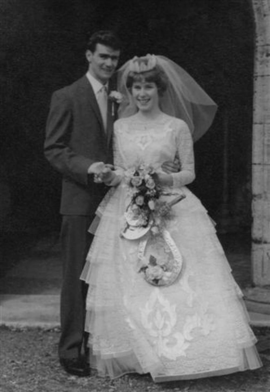 Mum and Dad wedding day