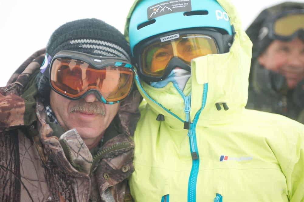 Me and Anatoli. Photo courtesy of Martin Hartley