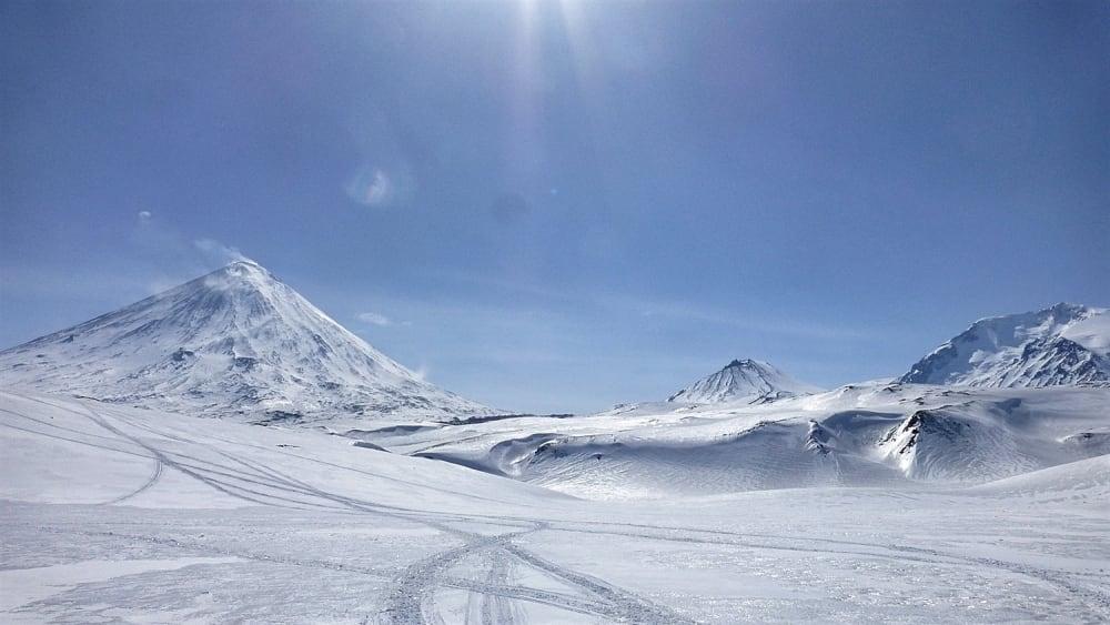 Enjoying the scenery while Martin took photos of Julia snowboarding