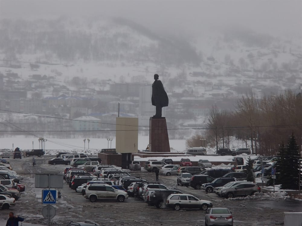Lenin statues seem to appear all over
