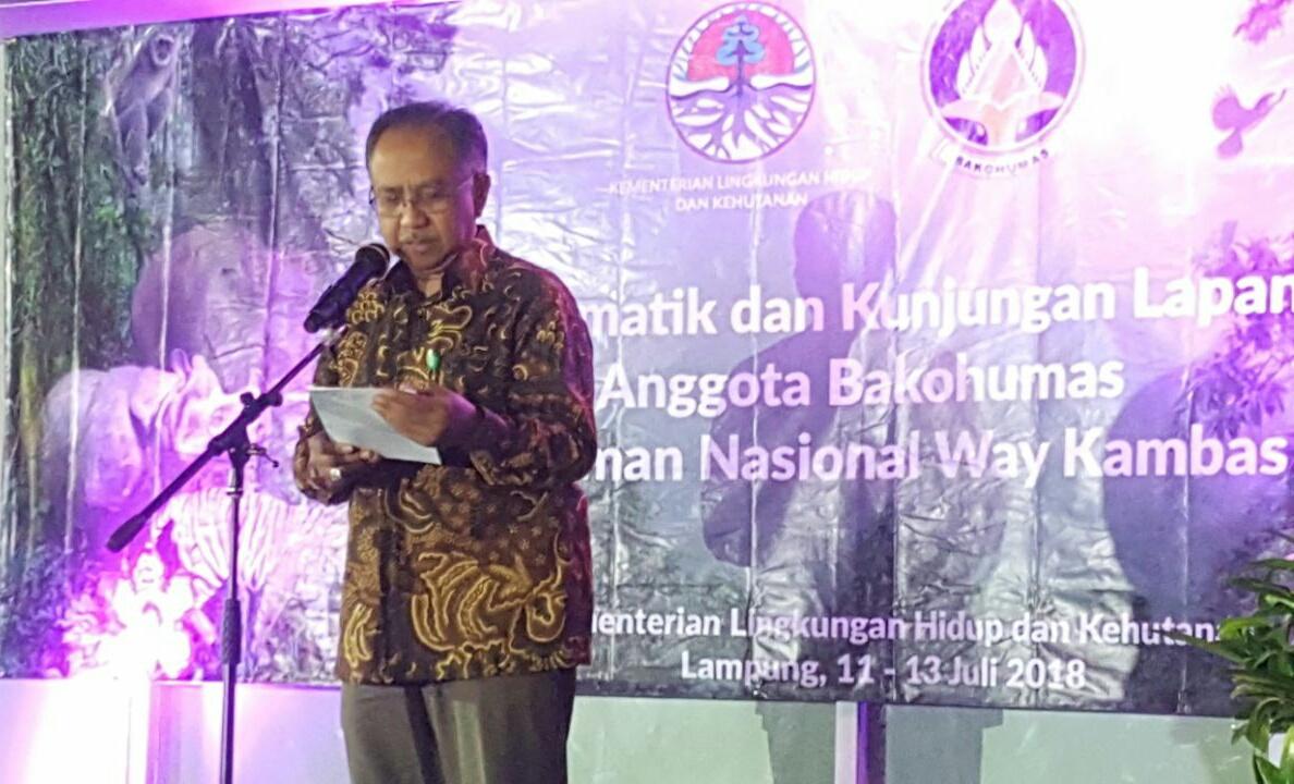 TNWK, Lokasi Kunjungan Forum Tematik Bakohumas