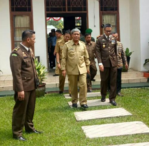 Wabup Loekman Minta Kejari Lampung Tengah Lakukan Pembinaan SKPD