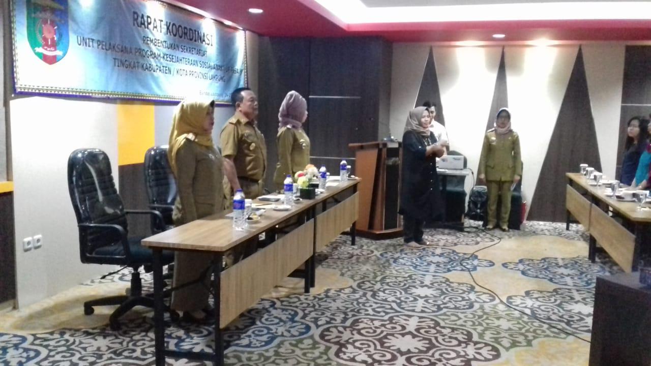 Dinas Sosial Provinsi Lampung Gelar UP-PKSA