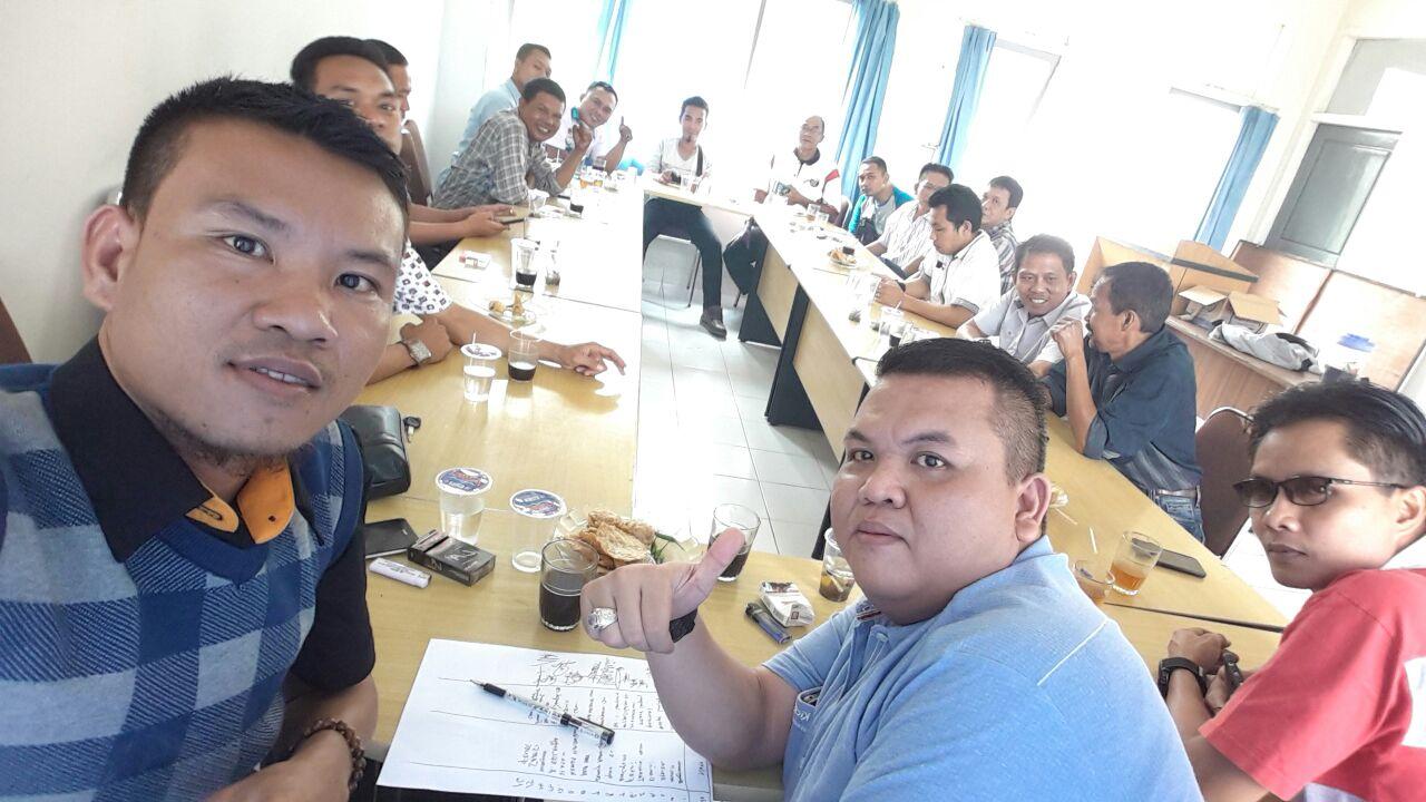 PWI Lampung Timur Gelar Rakor Bahas Pelantikan di Delapan Kabupaten