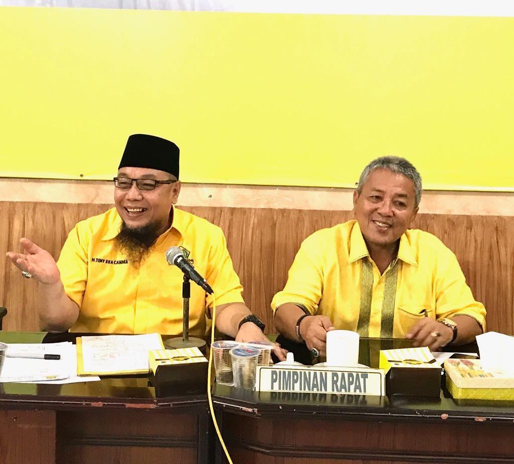Arinal Djunaidi: Golkar Lampung Konsentrasi Menangkan Jokowi, Tidak Ada Pengunduran Diri
