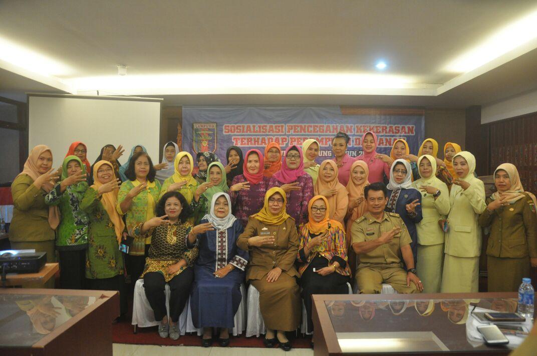 Pemprov Lampung Berhasil Turunkan Angka Kekerasan pada Perempuan dan Anak