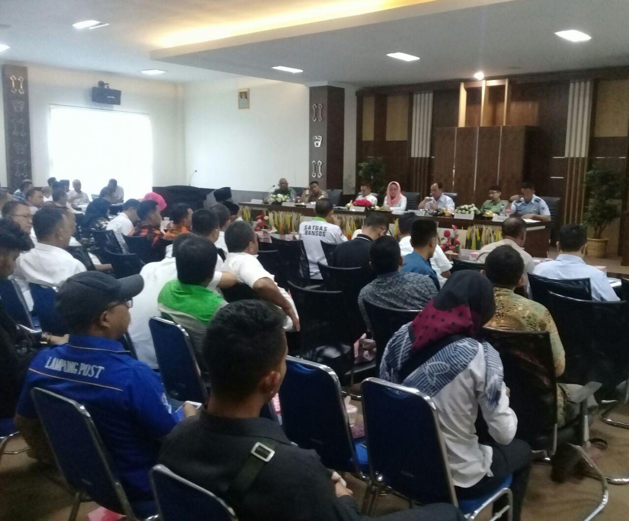 Bupati Winarti Optimis Penyambutan Peserta Kirab Obor Asean Games 2018 di Tulang Bawang Berjalan Lancar