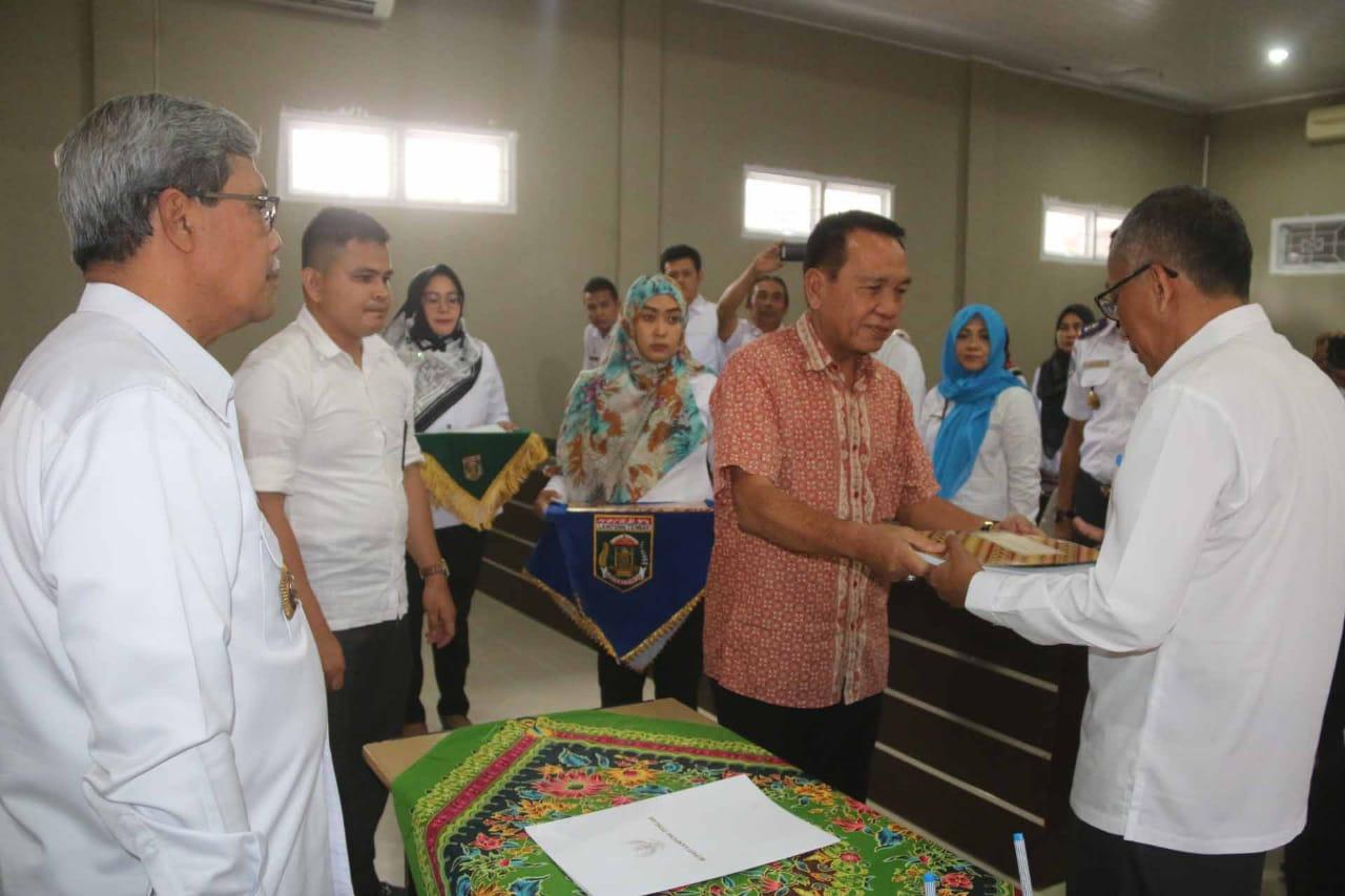 Makmuri Resmi Jabat Kepala Bappeda Lamteng Menggantikan Abdulhak